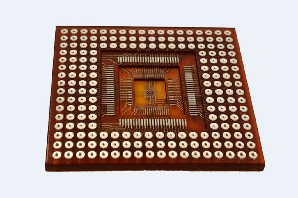 Vertically Stacked Integrated Cuircuit (IC)