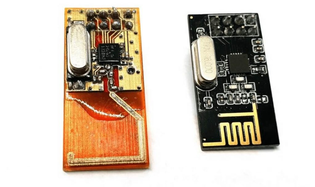 Circuit boards with antennas